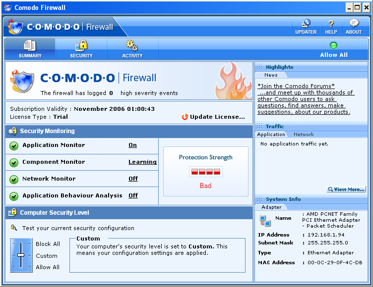 http://comodo-firewall.brothersoft.com/screenshots/comodo-firewall-2.-4.18.184_1